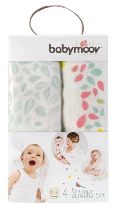 Babymoov Set de 3 Langes 4 Seasons