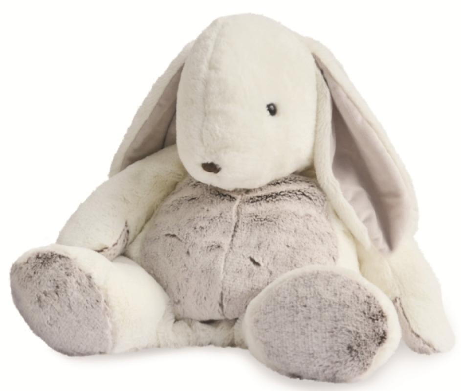 Peluche Lapin Flocons Range Pyjama - 40 cm de chez Babynat, collection Anciennes Collections BabyNat