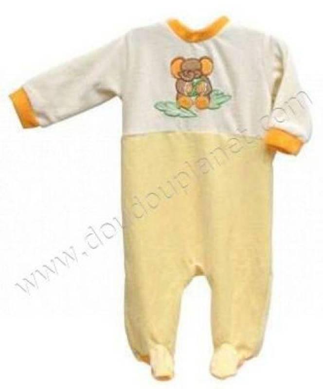 Bengy pyjama el phant doudouplanet - Pyjama elephant ...