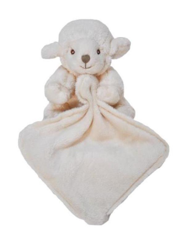 Bukowski Doudou mouchoir Agneau Baby Lazy Lefty - 12 cm