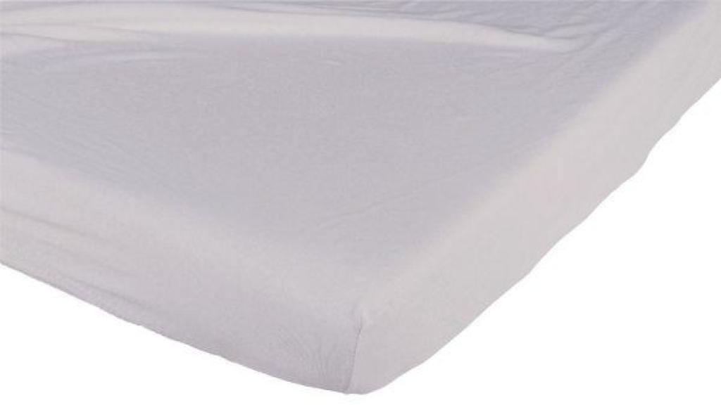 Candide Drap Housse Jersey Coton Gris - 70x140 cm