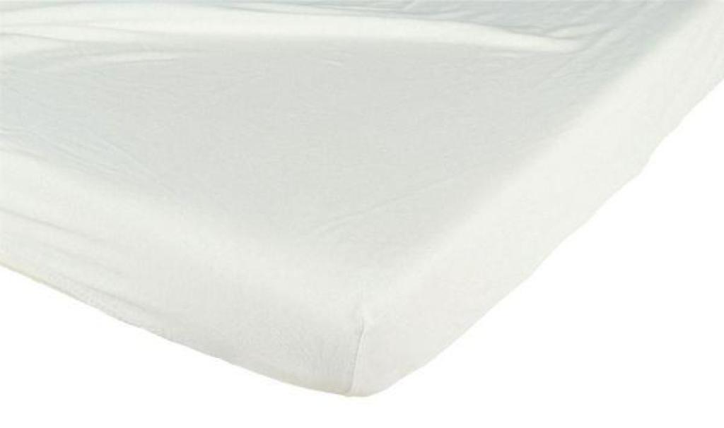 Candide Drap Housse Jersey Coton Ivoire - 40x80 cm