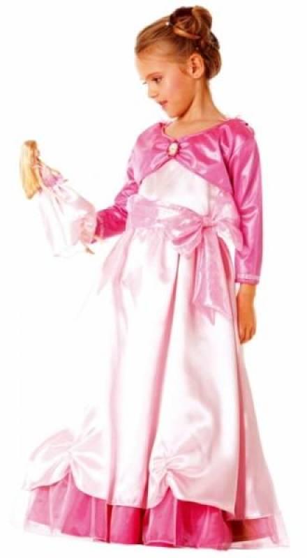 César Costume Barbie Doll and Me pétale de rose 3 à 5 ans