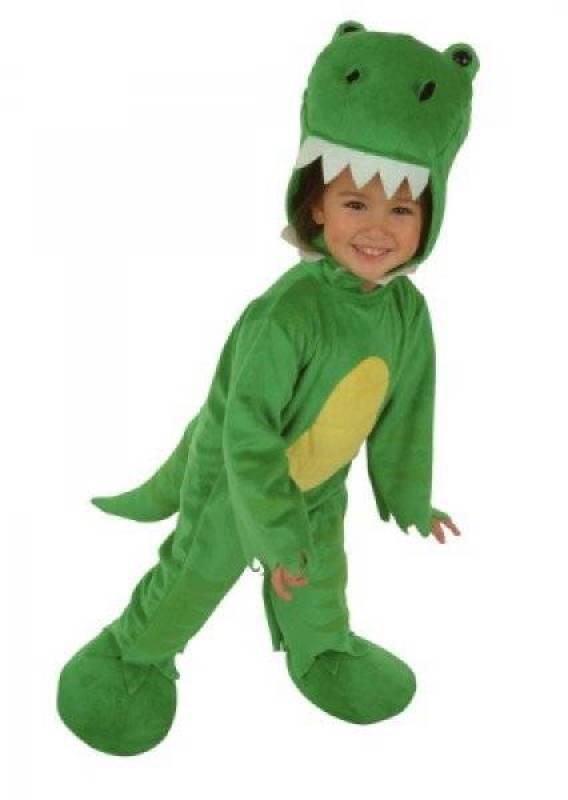 César Costume Dragon Vert 1 à 3 ans