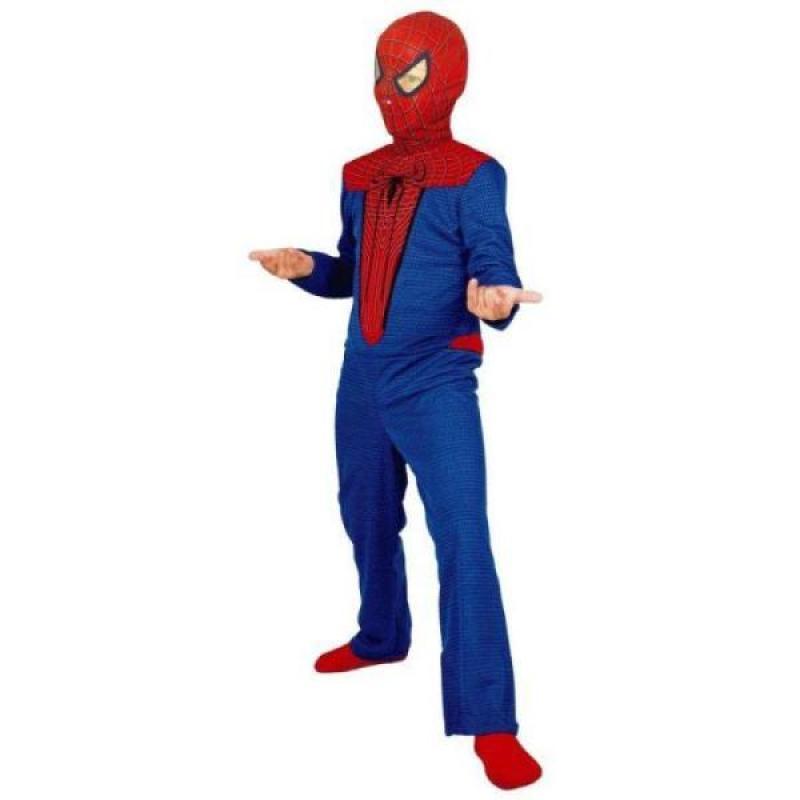 César Costume Spiderman Classique 3 à 5 ans
