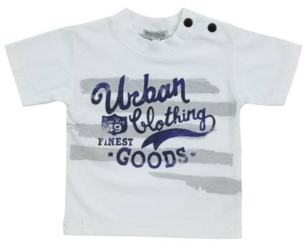 Confetti Tee-Shirt Manches Courtes Black City
