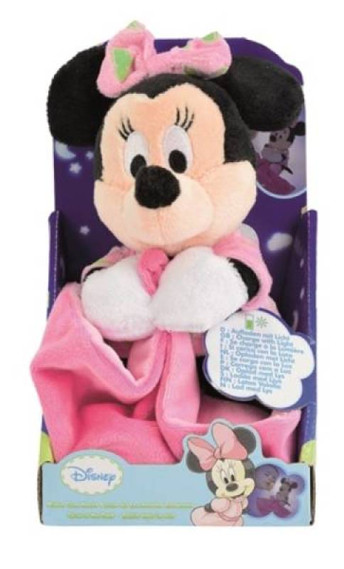 Disney Doudou Minnie Rose Lumineux