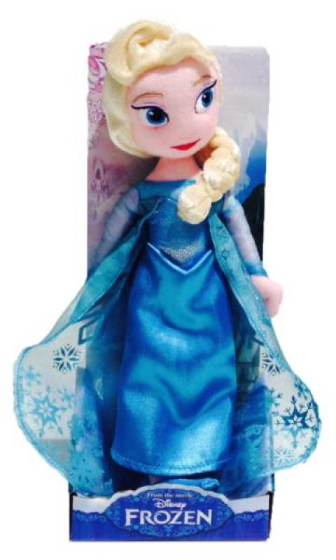 disney peluche elsa la reine des neiges frozen 25 cm. Black Bedroom Furniture Sets. Home Design Ideas