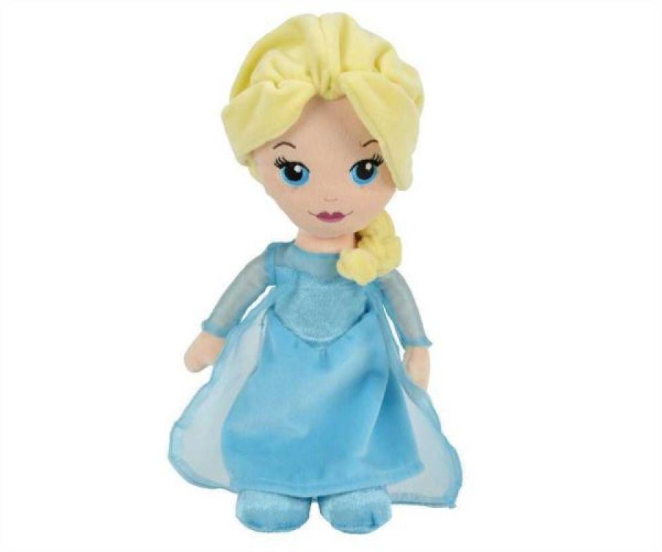 Disney Peluche Poupée Elsa - 25 cm
