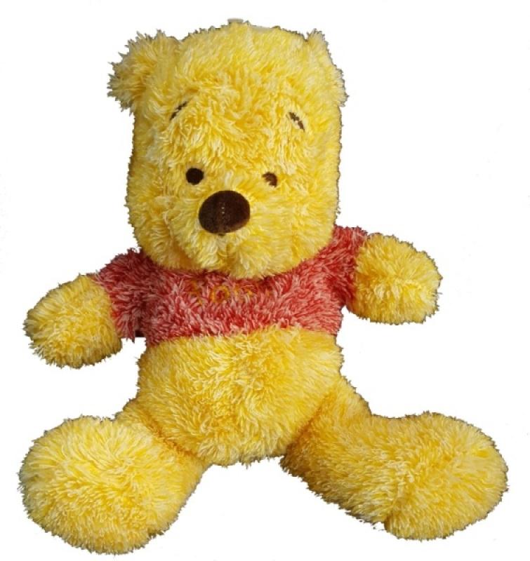 Peluche Winnie Cuddle Frostys - 25 cm de chez Disney, collection Winnie et ses Amis