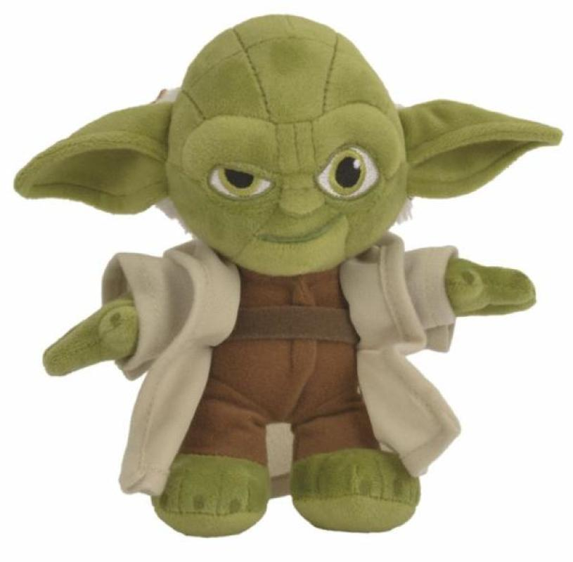 disney peluche yoda star wars 17 cm doudouplanet. Black Bedroom Furniture Sets. Home Design Ideas