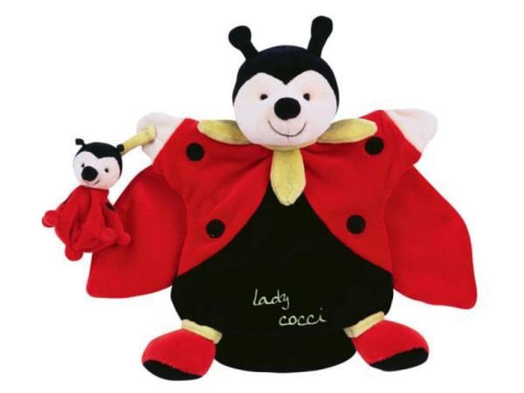 Doudou et Compagnie Marionnette Coccinelle Lady