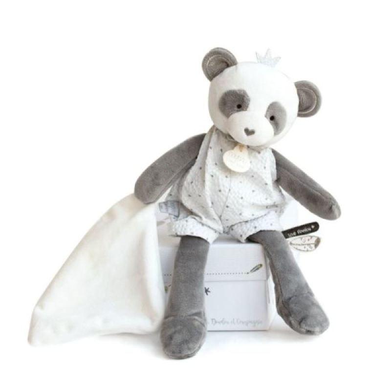 Doudou et Compagnie Peluche Panda 26 cm