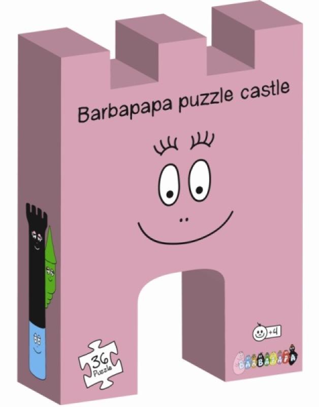 Dujardin Puzzle 36 pcs - Chateau Barbapapa