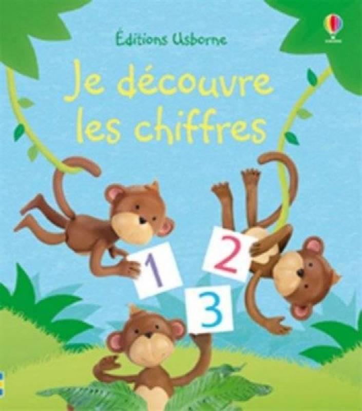 Editions Usborne Livre Je Découvre...Les Chiffres