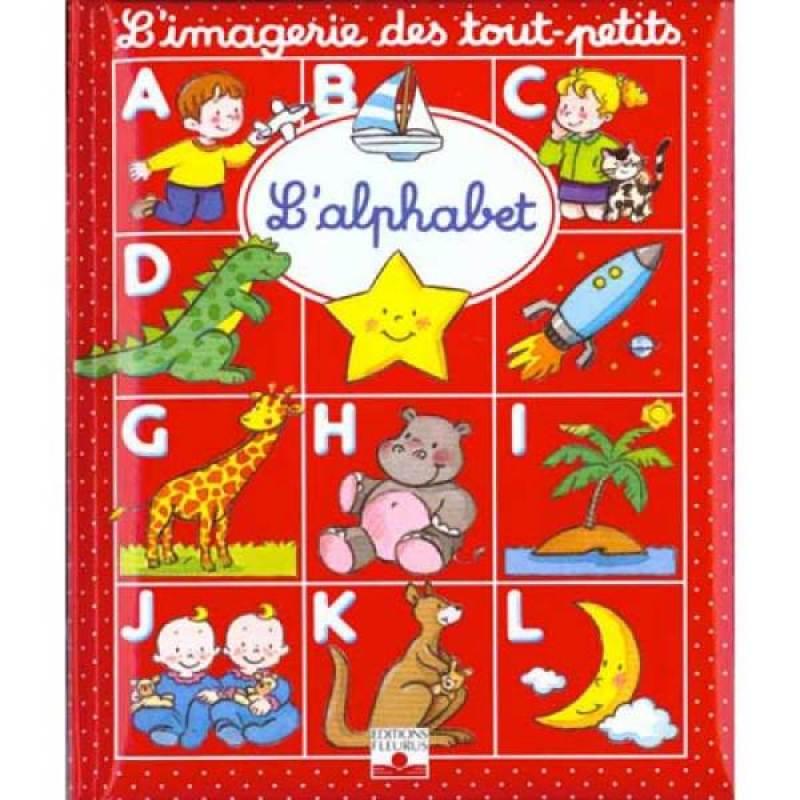 Fleurus Livre L'Alphabet - Imagerie des Tout Petits