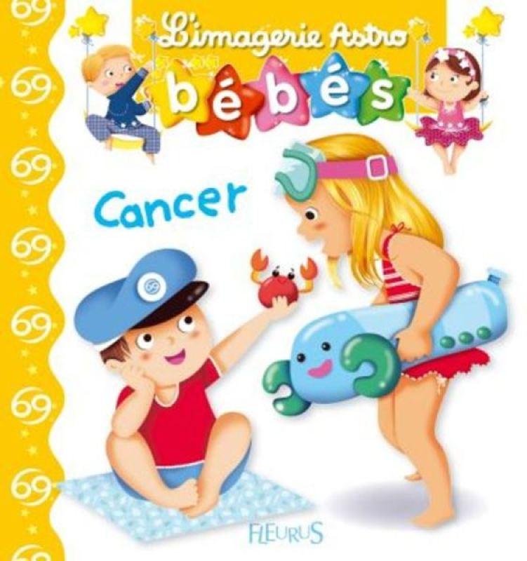 Livre Imagerie Astro Bébés Cancer de chez Fleurus, collection Imagerie des Bébés Astro