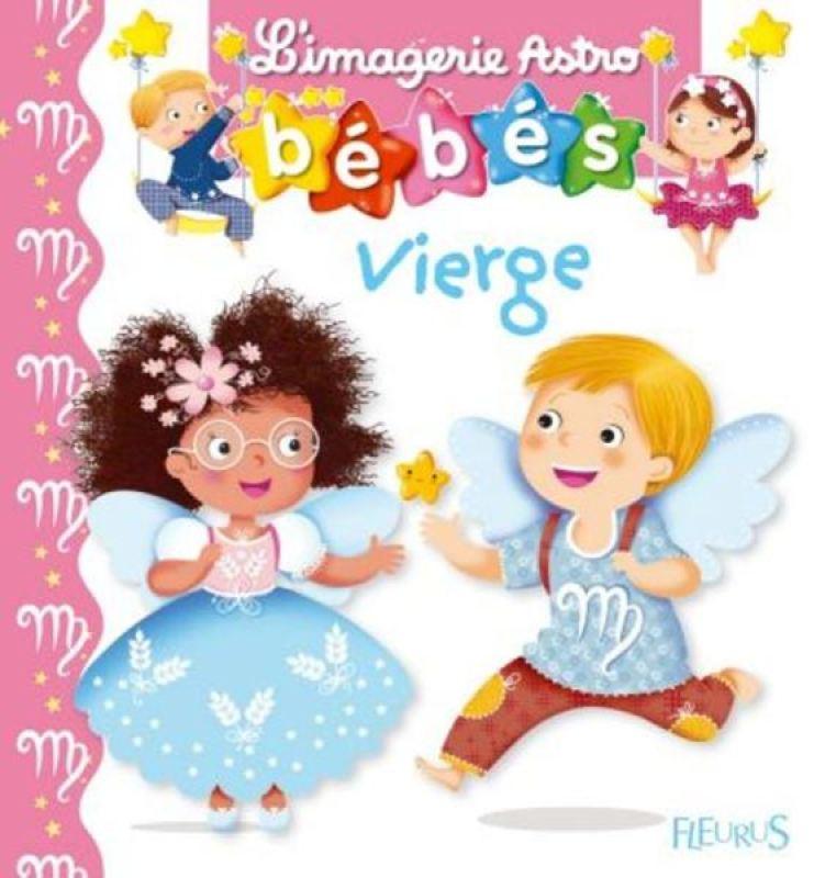 Livre Imagerie Astro Bébés Vierge de chez Fleurus, collection Imagerie des Bébés Astro