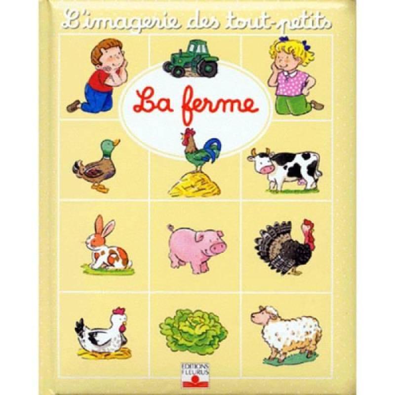 Fleurus Livre La Ferme - Imagerie des Tout Petits