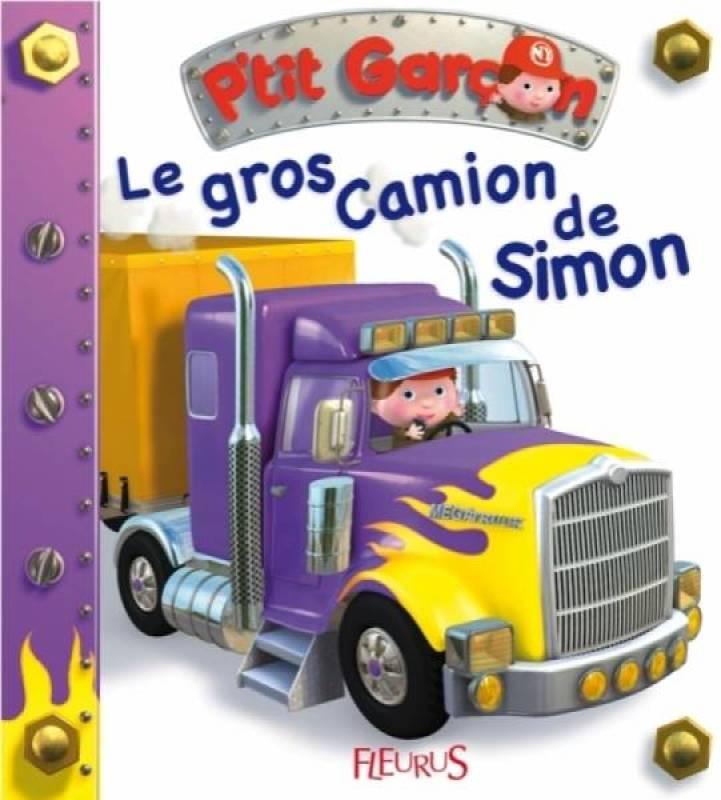 Fleurus Livre Le Gros Camion de Simon - Petit Garçon