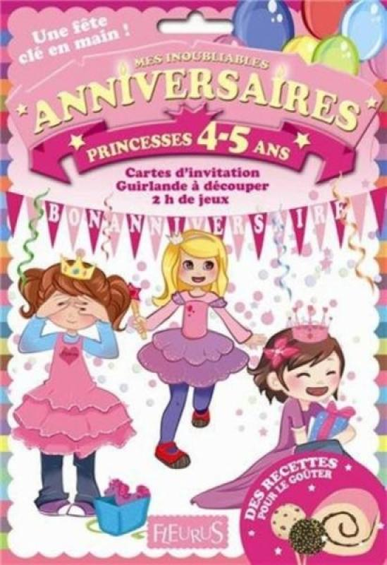 Fleurus Pochettes Anniversaires Princesses 4-5 ans