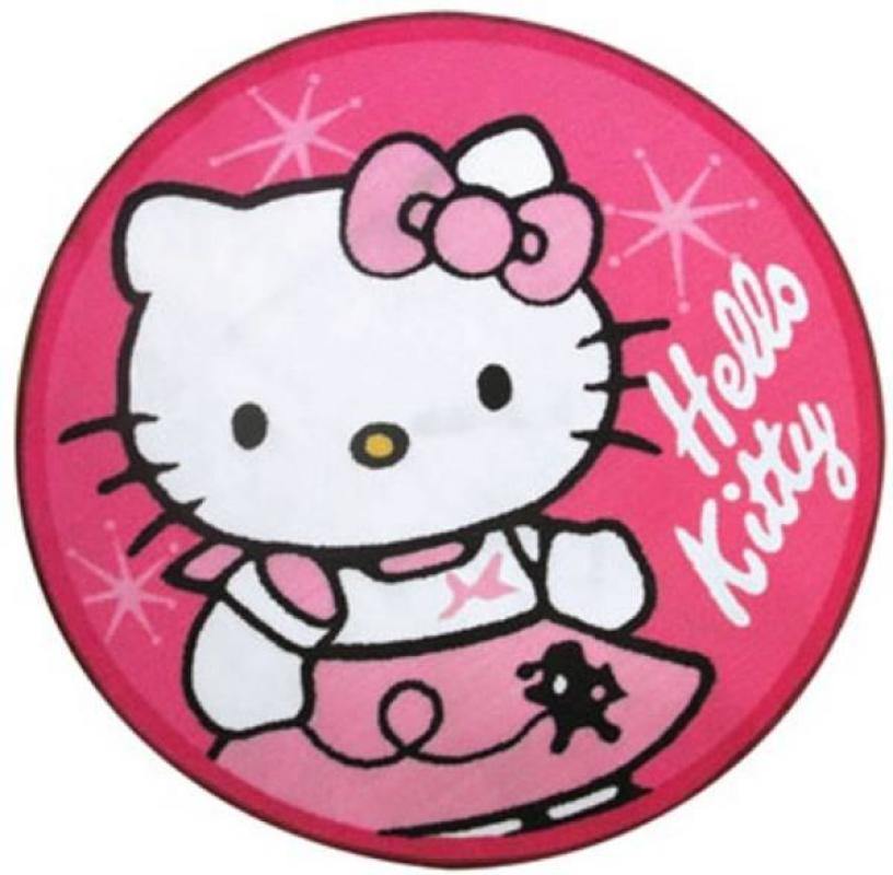 Fun House Tapis Rond Hello Kitty