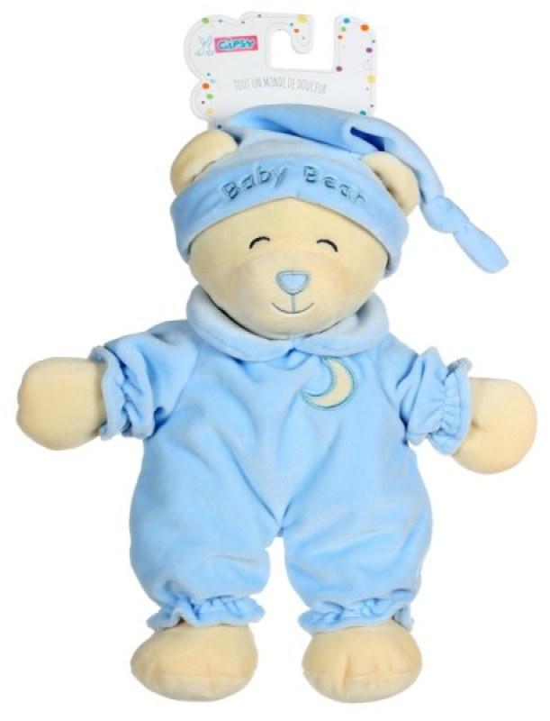 Gipsy Peluche Ours Baby Bear Bleu Ciel - 30 cm