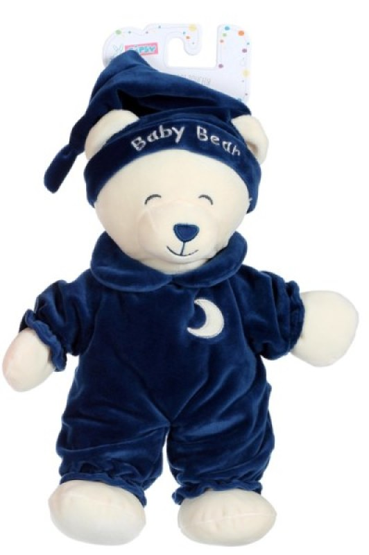 Gipsy Peluche Ours Baby Bear Bleu Marine - 30 cm