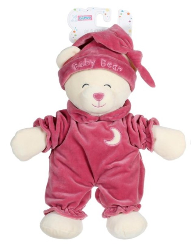 Gipsy Peluche Ours Baby Bear Vieux Rose - 30 cm