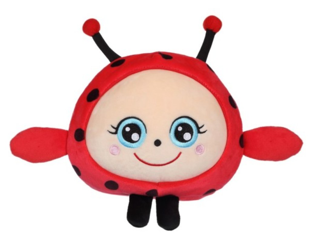 Gipsy Peluche Squishimals Coccinelle Dotty