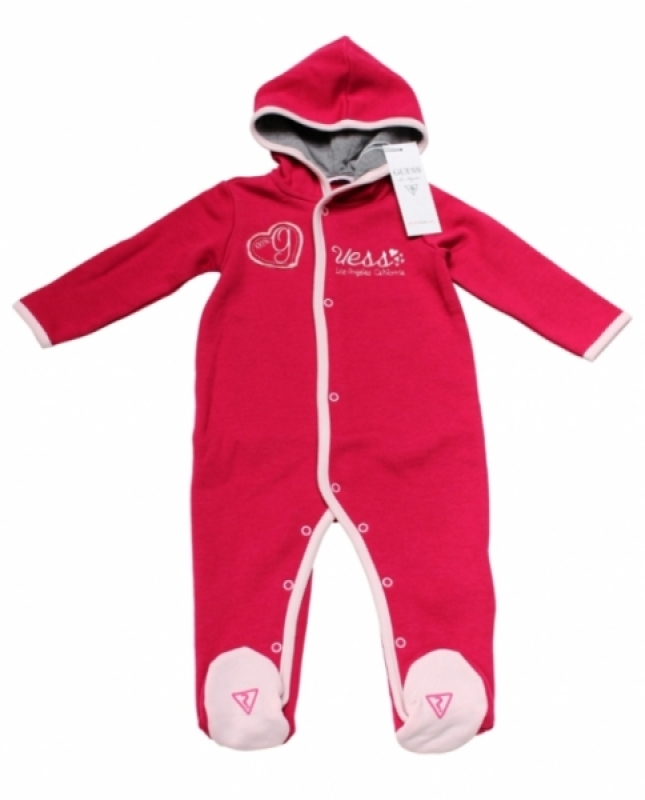 Guess Enfant Combinaison Rose Los Angeles 6 mois