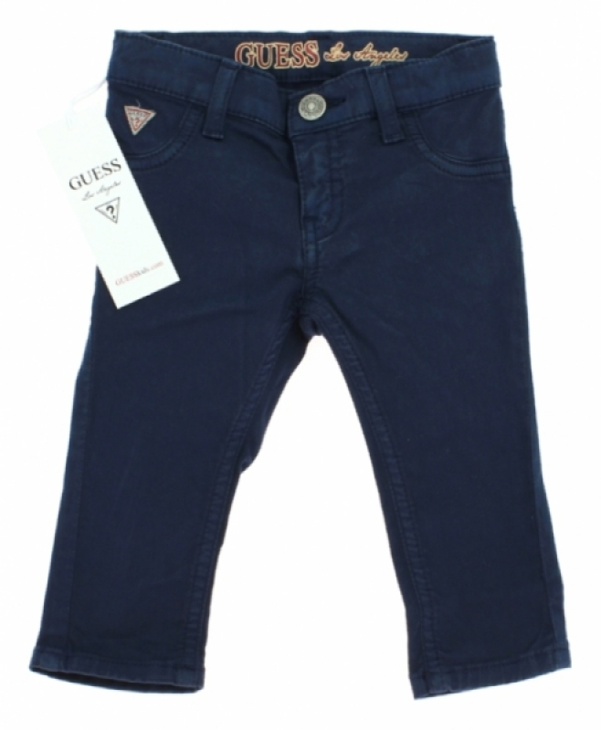 Guess Enfant Pantalon Bleu Marine Garçon 18 mois