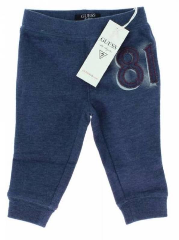 Guess Enfant Pantalon Jogging 81 Bleu - 24 mois