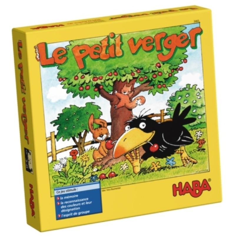 Haba Jeu de Société Le Petit Verger