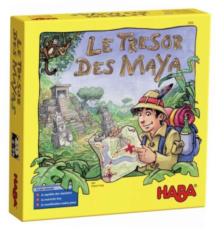 Haba Jeu de Société Le Trésor des Mayas