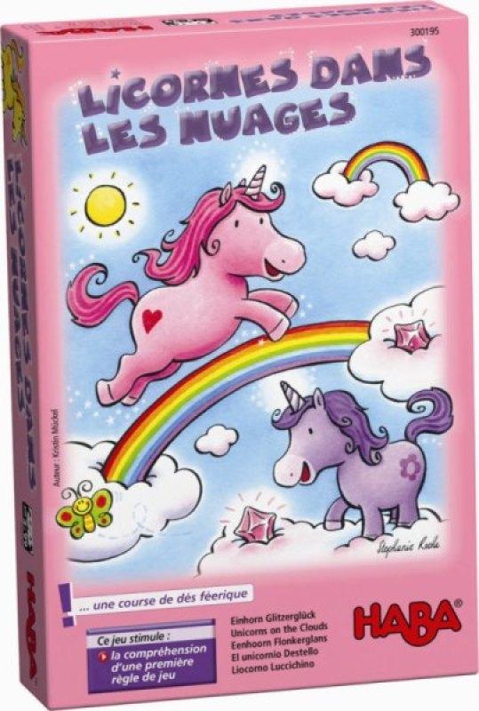 Haba Jeu de Société Licornes dans les Nuages