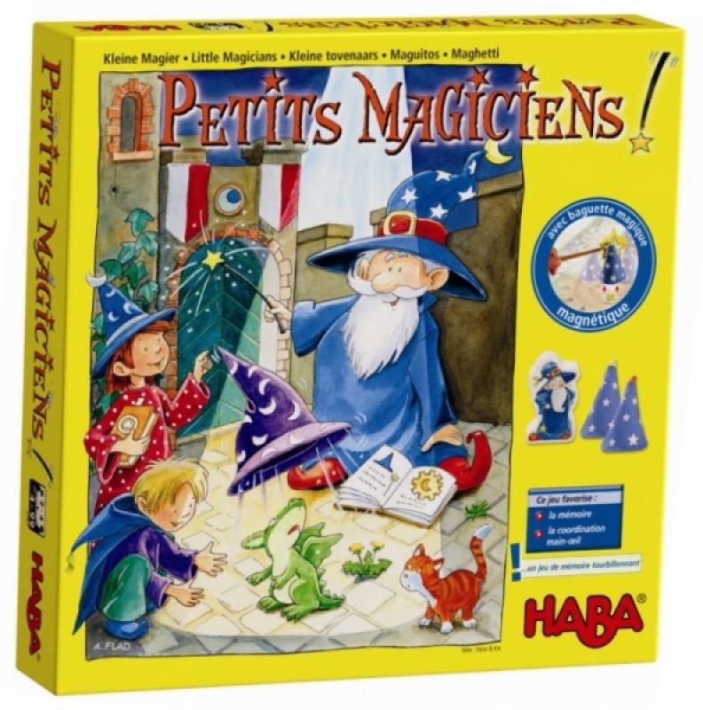 Haba Jeu de Société Petits Magiciens