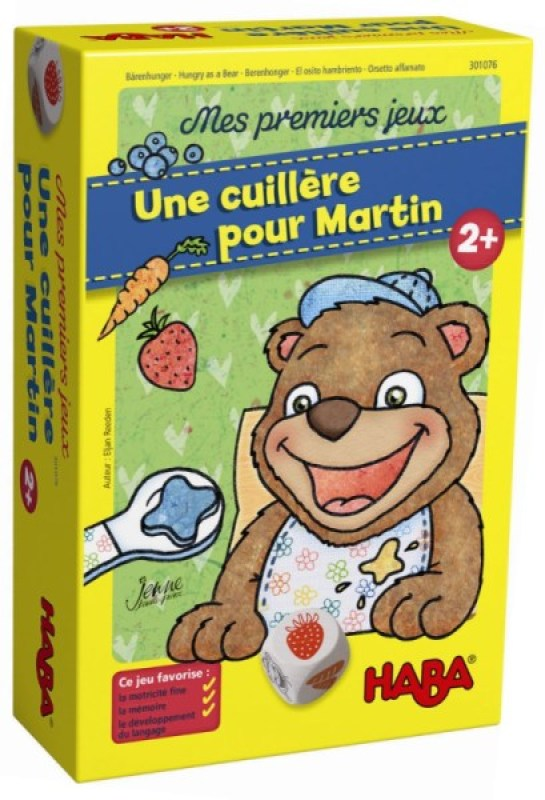 Haba Jeu Une Cuillère pour Martin
