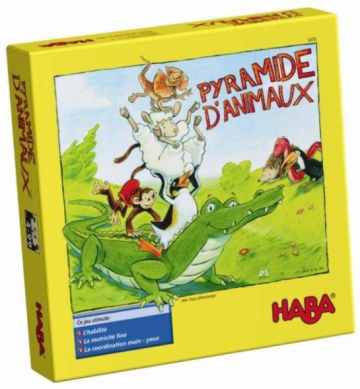 Haba Pyramide d'Animaux