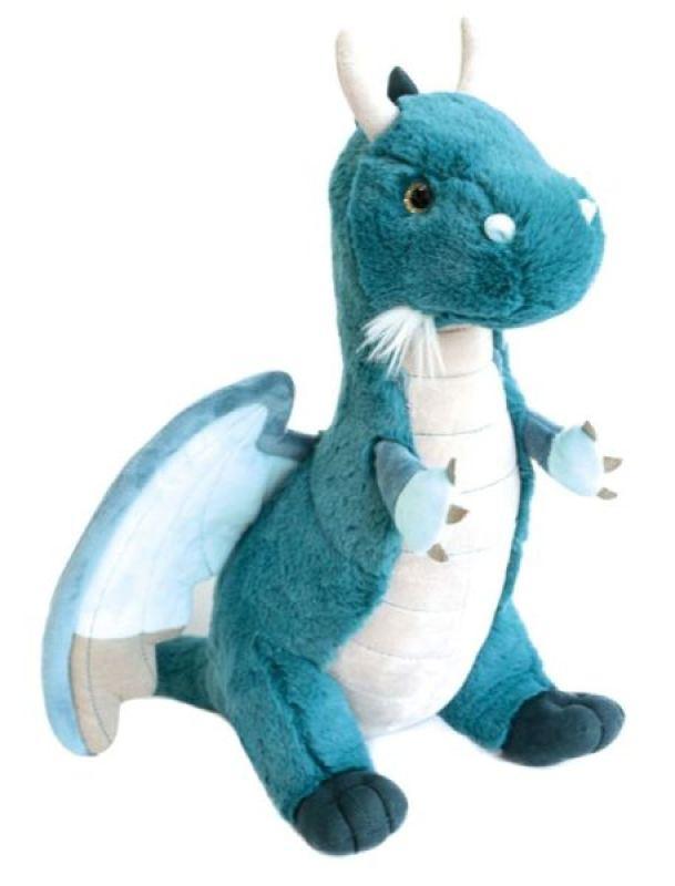 Histoire D Ours Peluche Dragon Emeraude 40 Cm