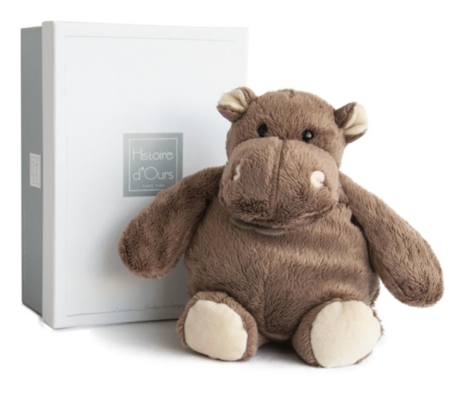 Histoire d Ours Peluche Hippo - 23 cm
