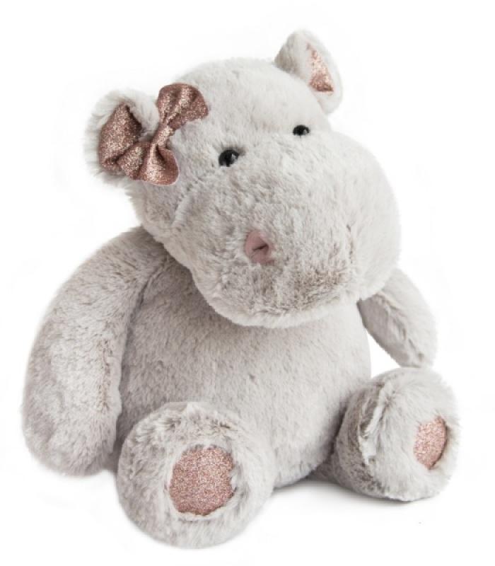 histoire d ours peluche hippopotame hippo girl 38 cm. Black Bedroom Furniture Sets. Home Design Ideas
