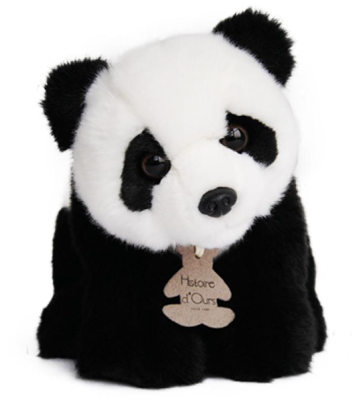 histoire d ours peluche panda les authentiques 20 cm. Black Bedroom Furniture Sets. Home Design Ideas