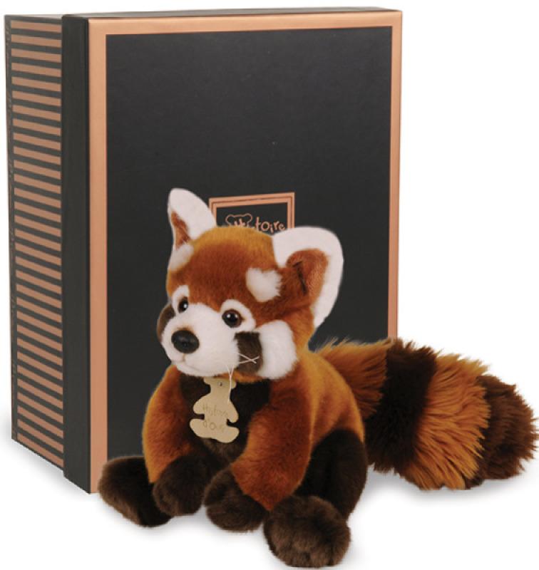 Histoire d Ours Peluche Panda Roux Les Authentiques - 20 cm