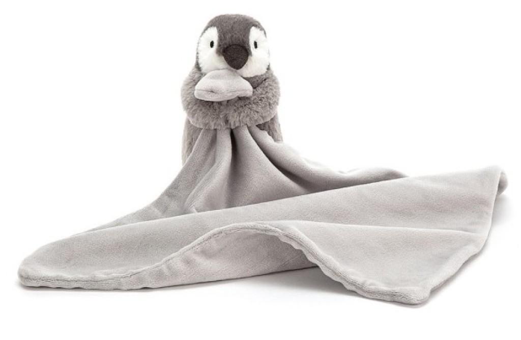 Jellycat Doudou Pingouin Gris