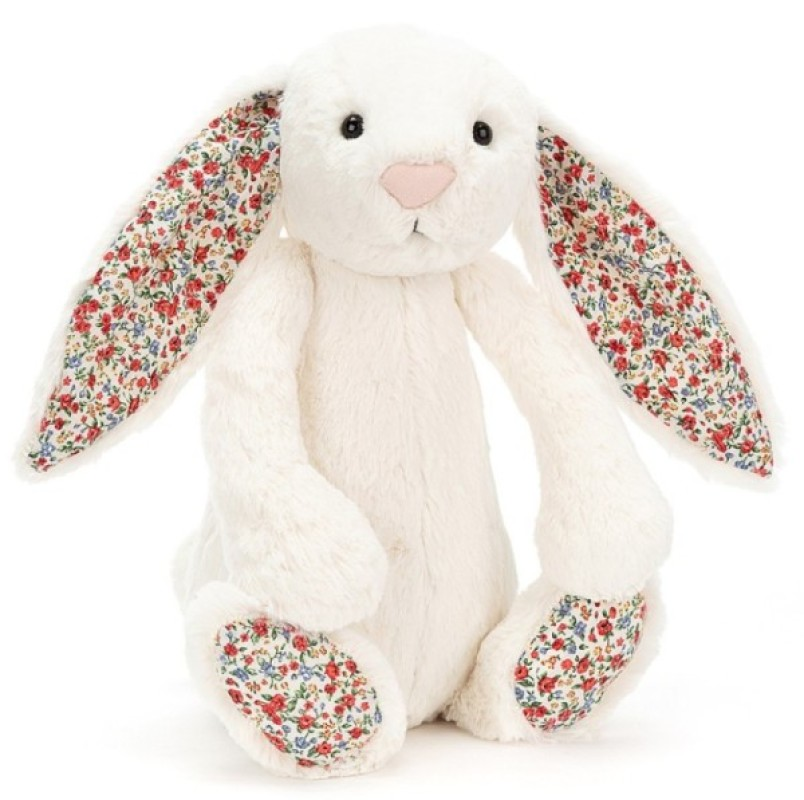 Jellycat Peluche Lapin Blossom Bashfuls Crème - 31 cm
