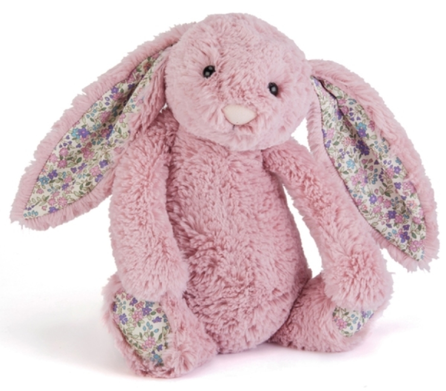 jellycat peluche lapin rose blossom tulip 18 cm. Black Bedroom Furniture Sets. Home Design Ideas