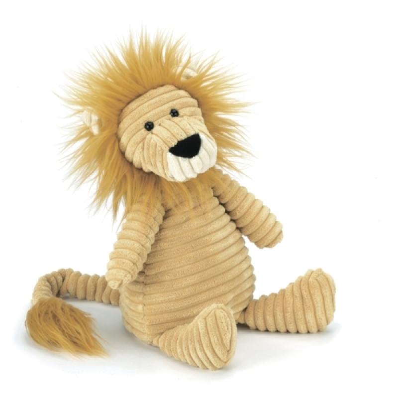 Peluche Lion Cordy Roy - 38 cm de chez Jellycat, collection Cordy Roy