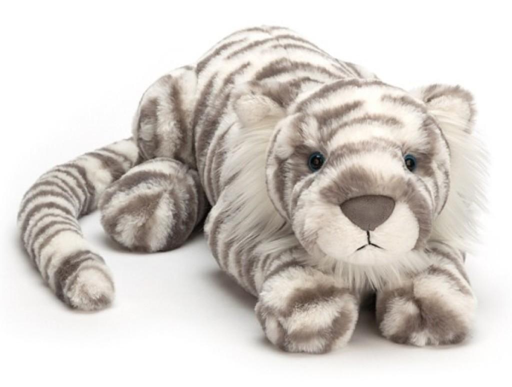 Jellycat Peluche Tigre des Neiges Sacha - 74 cm