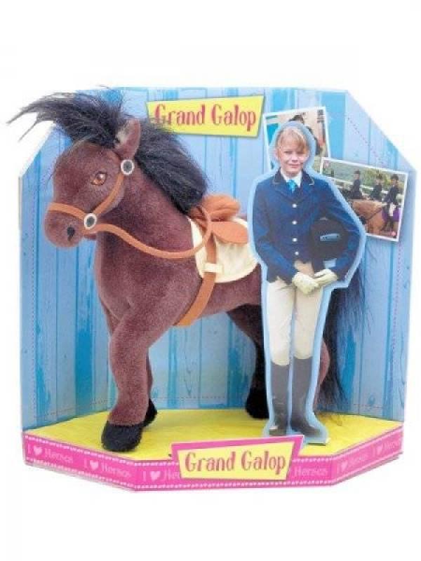 Jemini peluche cheval belle grand galop 27 cm - Grand galop le cheval volant ...
